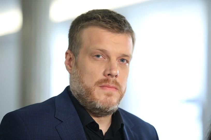 Adrian Zandberg: Na początku listopada będzie znana formuła reprezentacji Lewicy Razem w Sejmie /Andrzej Iwańczuk /Reporter