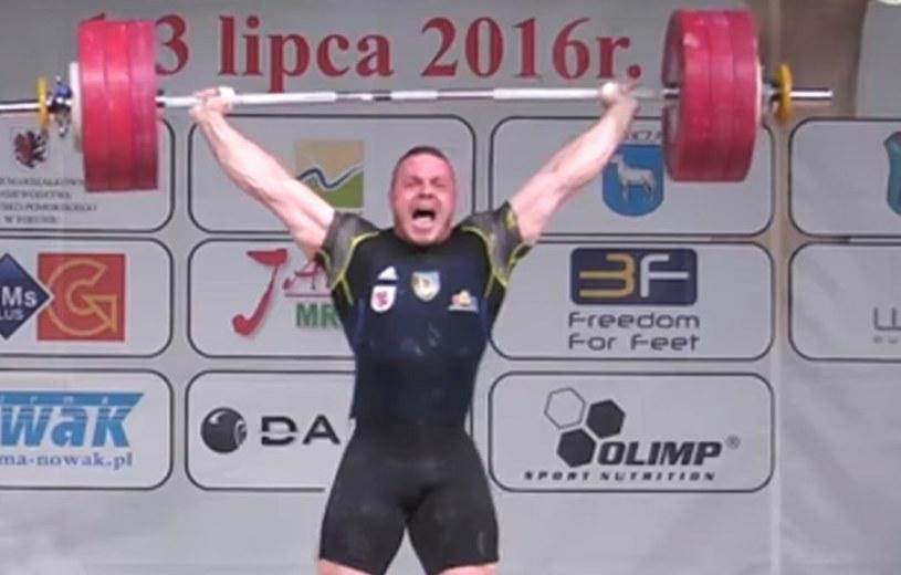 Adrian Zieliński. /