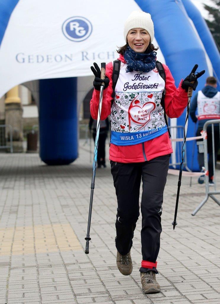 Adriana jest pomysłodawczynią i organizatorką corocznego Ogólnopolskiego Marszu Nordic Walking im. profesora Zbigniewa Religi – Popieram transplantację! /