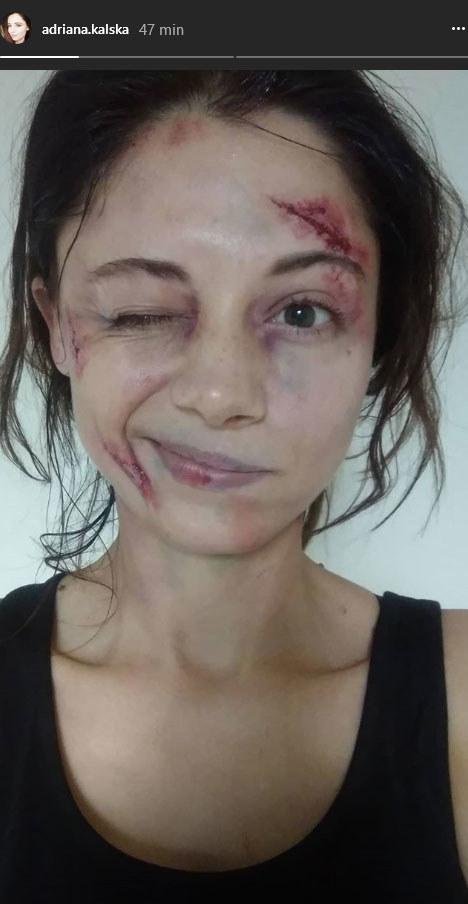 """Adriana Kalska jako Iza Lewińska w """"M jak miłość"""" /Instagram /materiały prasowe"""