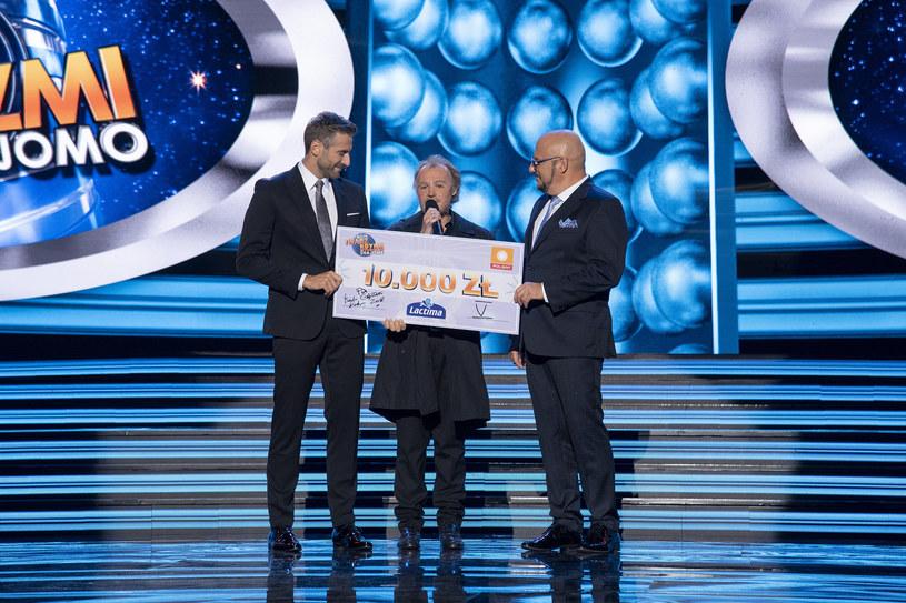 Adriana Kalska odbiera nagrodę /Polsat