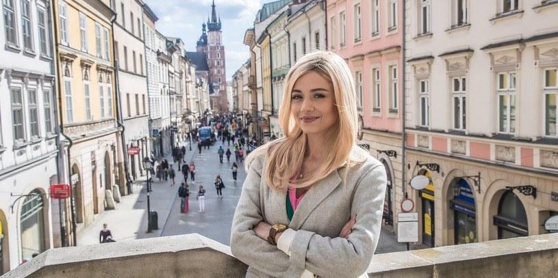 """Adriana Kalska w """"Papierach na szczęście"""" /TVN"""