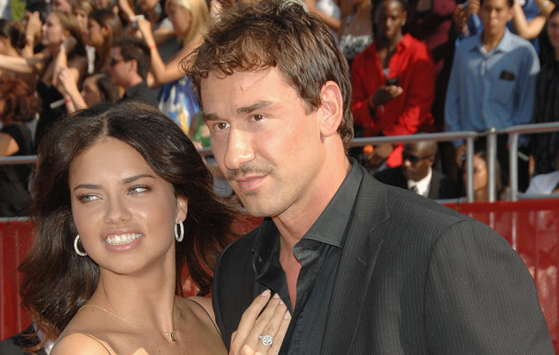 Adriana Lima i Marko Jaric, fot. Stephen Shugerman   /Getty Images/Flash Press Media