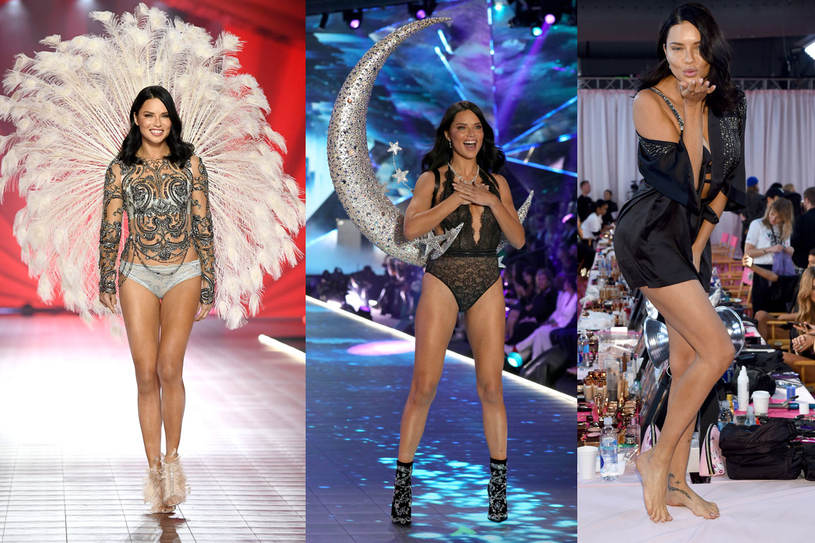 Adriana Lima na pokazie Victoria's Secret 2018 /Getty Images