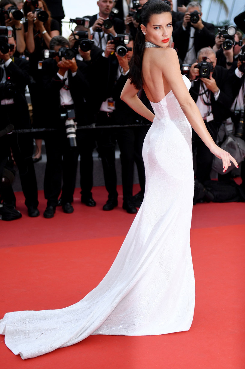 Adriana Lima w Cannes /East News