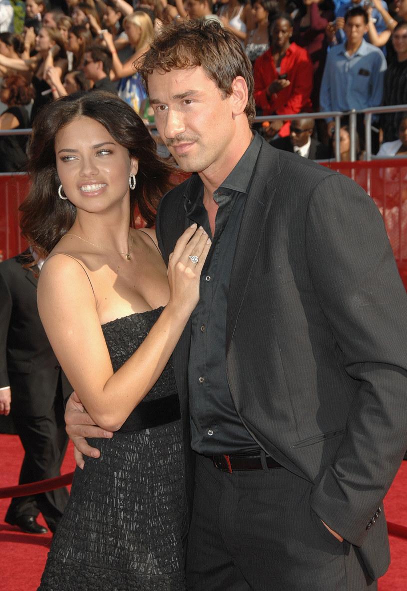 Adriana Lima z byłym mężem, Marko Jariciem /Stephen Shugerman /Getty Images