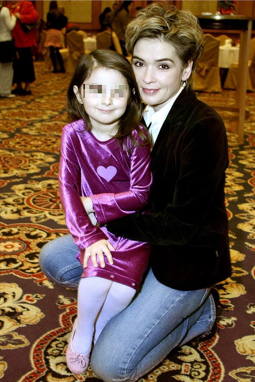 Adriana Niecko z córką Natalią /- /AKPA