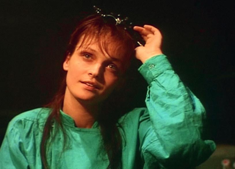 Adrianna Biedrzyńska w latach 90. była gwiazdą /INPLUS /East News