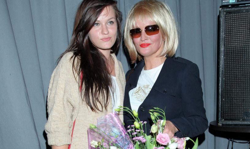 Adrianna Biedrzyńska z córką Michaliną, 2011 rok /Paweł Wrzecion /MWMedia
