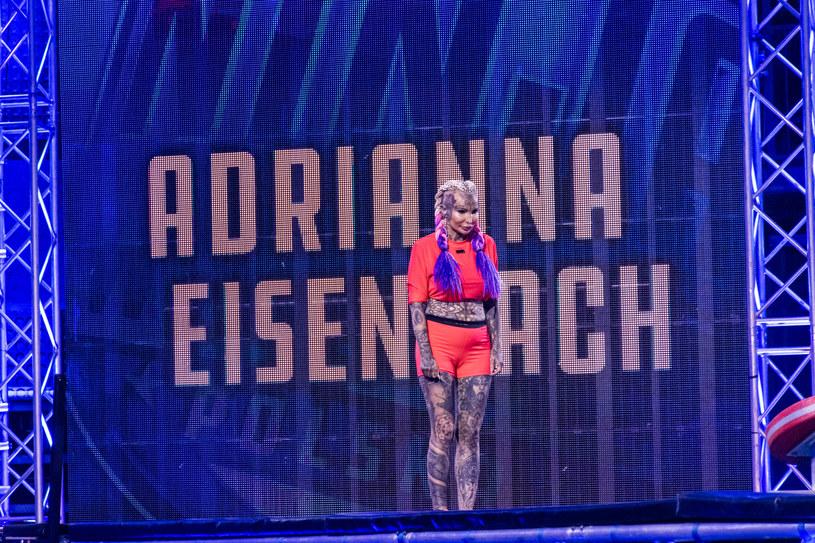 Adrianna Eisenbach na planie Ninja Warrior /INTERIA.PL/materiały prasowe