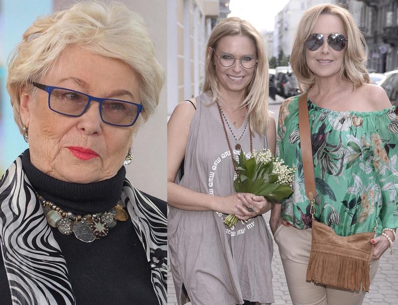 Adrianna Godlewska, Paulina Młynarska i Agata Młynarska /Justyna Rojek /East News