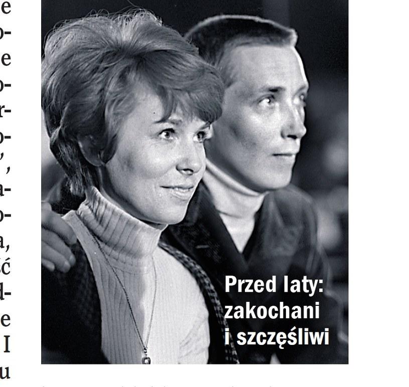 Adrianna i Wojciech Młynarscy /- /Życie na gorąco