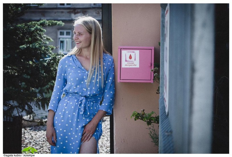 Adrianna Klimaszewska od ponad roku pomaga kobietom doświadczającym ubóstwa menstruacyjnego /Agata Kubis /archiwum prywatne