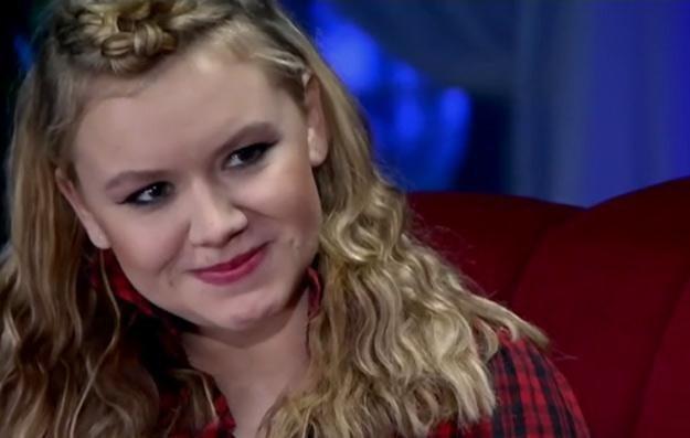 """Adrianna Styrcz znalazła się w najlepszej piątce w grupie wiekowej 16-24 - fot. """"X Factor"""" /TVN"""