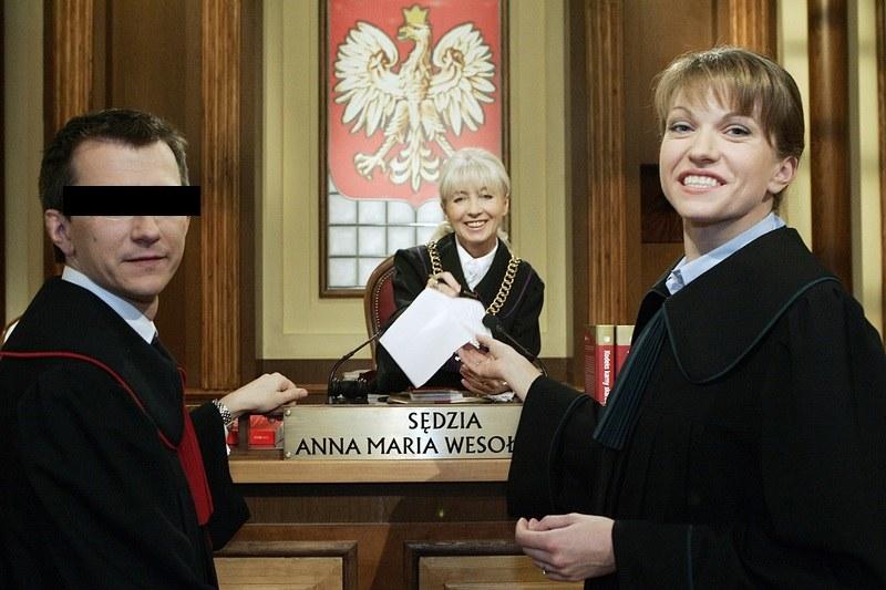 """Adwokat Artur Ł. w serialu """"Sędzia Anna Maria Wesołowska"""" /Niemiec /AKPA"""
