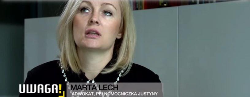 Adwokat zajęła się sprawą Justyny /TVN