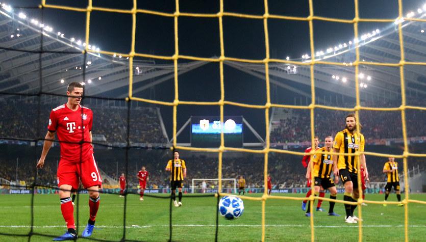 AEK Ateny - Bayern Monachium 0-2 w 3. kolejce Ligi Mistrzów