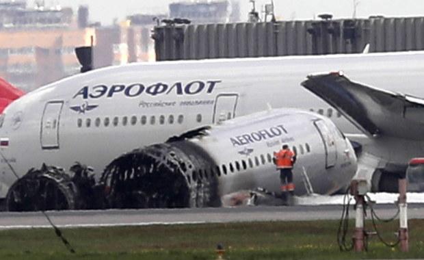 Aerofłot odwołuje rejsy Suchoj Superjet 100 po katastrofie w Moskwie