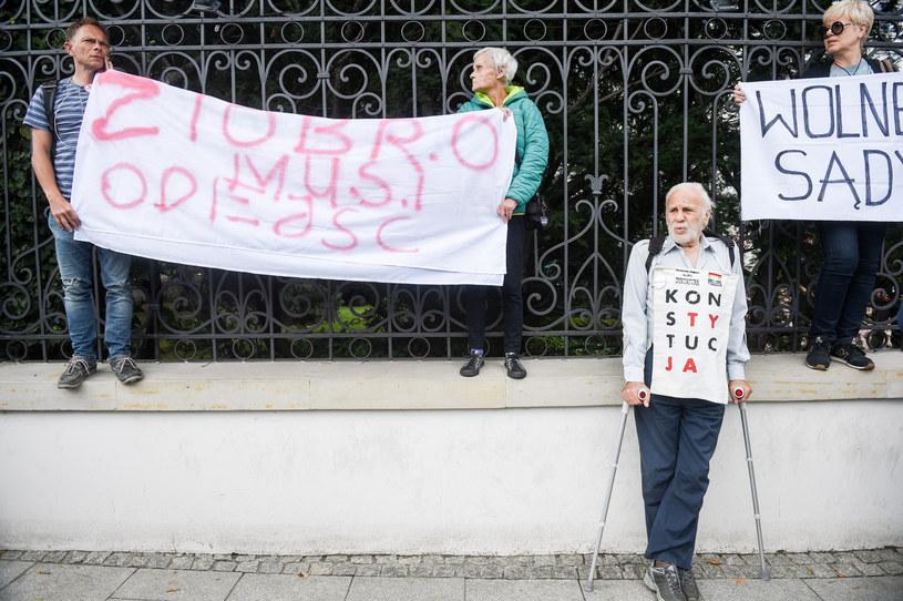 """Afera """"Emi"""" spowodowała kolejną falę protestów związanych z sądownictwem /Zbyszek Kaczmarek/REPORTER /East News"""