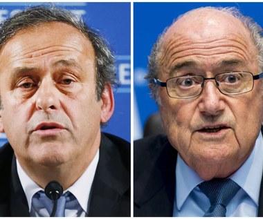 Afera FIFA. Blatter: To wszystko aranżował Platini