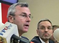 """""""Afera taśmowa"""" w Austrii. FPOe grozi odejściem swych ministrów z rządu"""