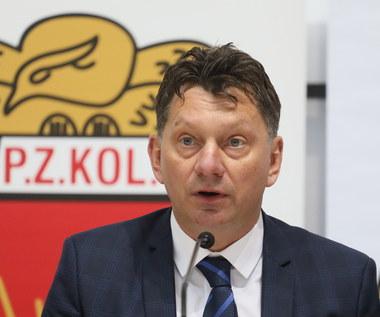 Afera w PZKol. Prezes Banaszek nie podał się do dymisji