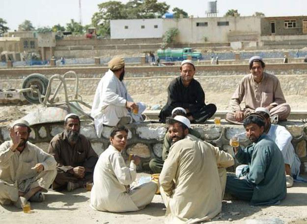 Afgańczycy podczas odpoczynku /Magdalena Pilor /archiwum prywatne