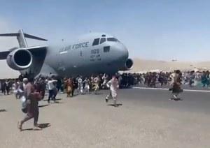 Afganistan: Dwaj bracia nie żyją. Zginęli spadając z amerykańskiego samolotu