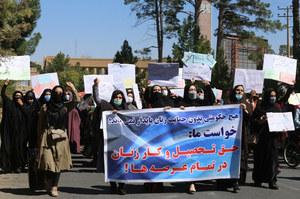 Afganistan. Kobiety broniły swoich praw w Heracie
