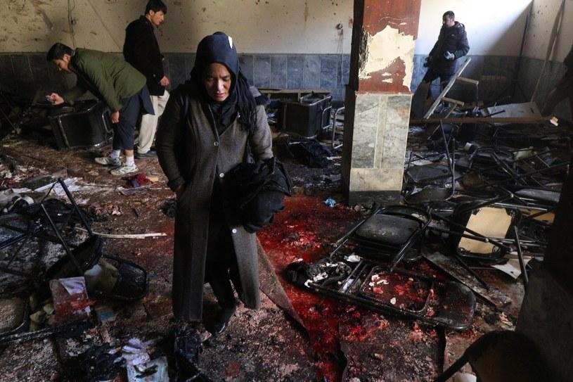 Afganka, która straciła w zamachu syna /HEDAYATULLAH AMID /PAP/EPA