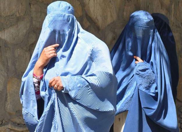 Afganki w burkach /Magdalena Pilor /archiwum prywatne