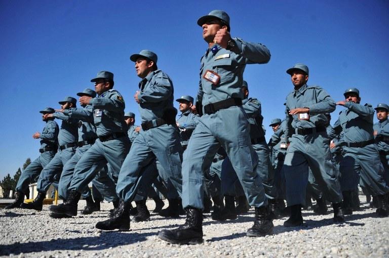 Afgańscy policjanci /AFP