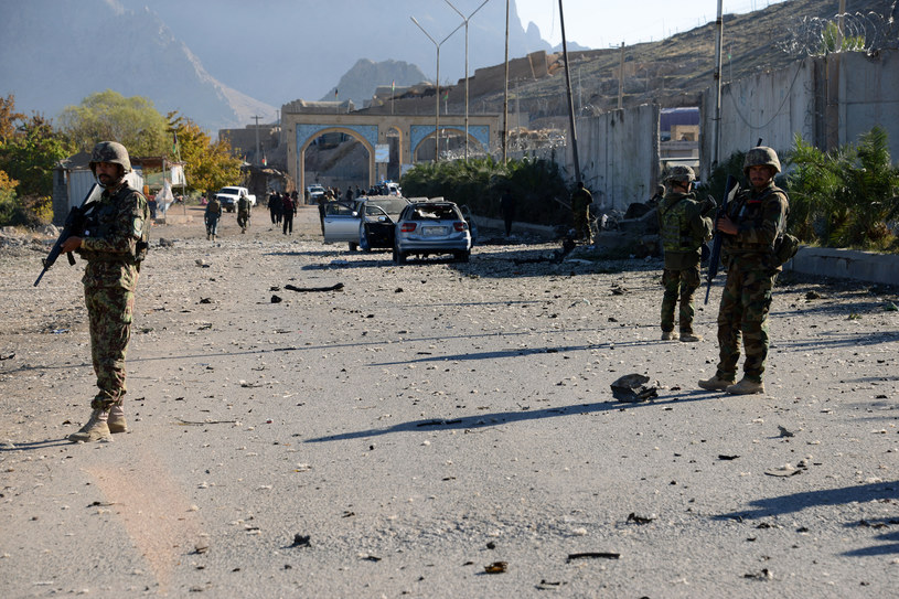 Afgańscy żołnierze w Kandaharze /AFP