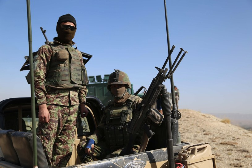 Afgańscy żołnierze /GHULAMULLAH HABIBI /PAP/EPA