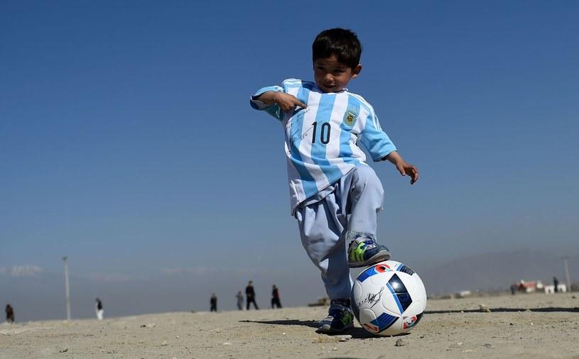 Afgański Messi /AFP