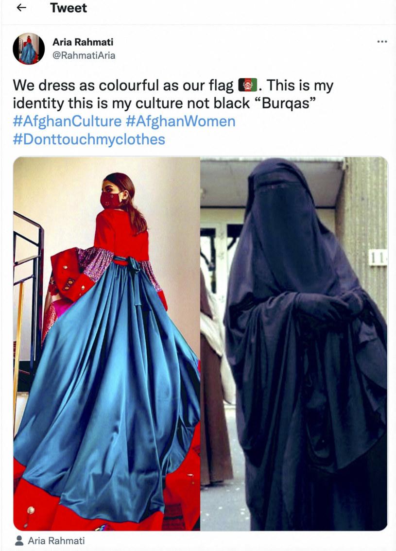 Afgańskie kobiety pokazują w sieci, że tradycyjny strój w ich kraju to nie burka... /Abaca/ABACA    /East News
