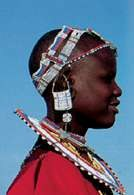 Afryka: mieszkanka Tanzanii /Encyklopedia Internautica