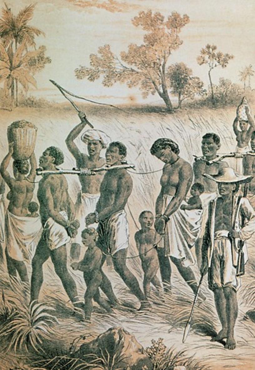 Afrykańscy niewolnicy (ilustracyjne) /Science Photo Library /East News