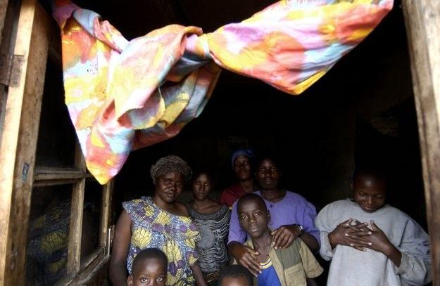 Afrykańskie prostytutki z rodzinami /AFP