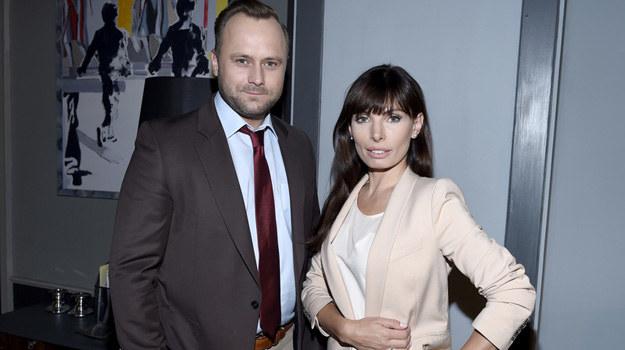 Agata (Agnieszka Dygant) i Marek (Leszek Lichota) /Piętka Mieszko /AKPA