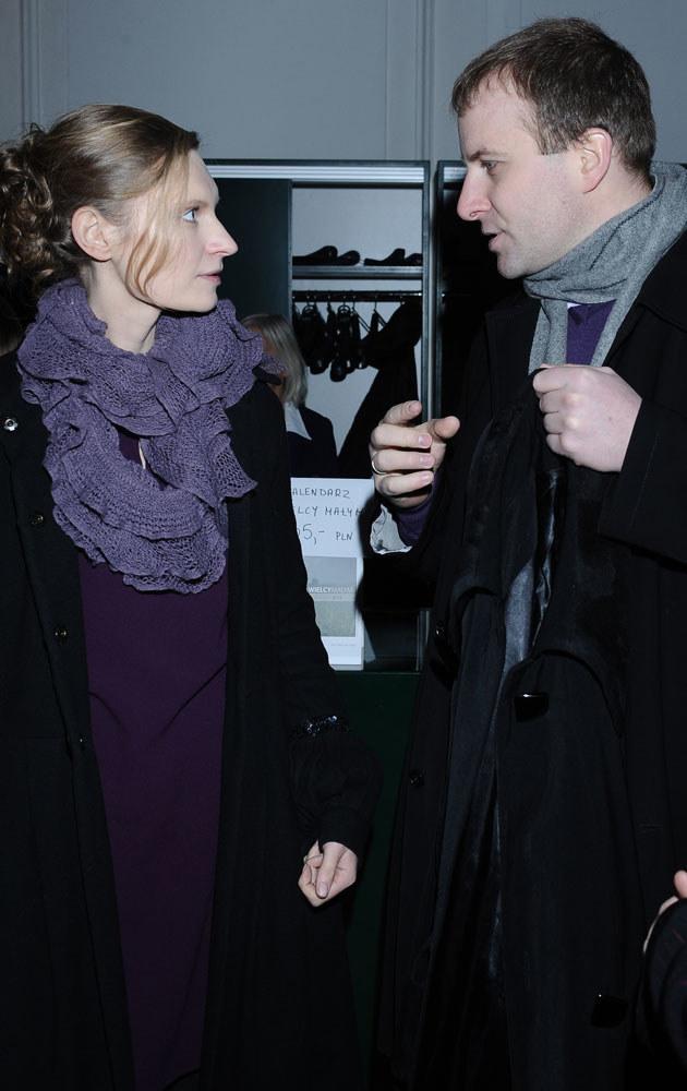 Agata Buzek i Adam Mazan /Andras Szilagyi /MWMedia
