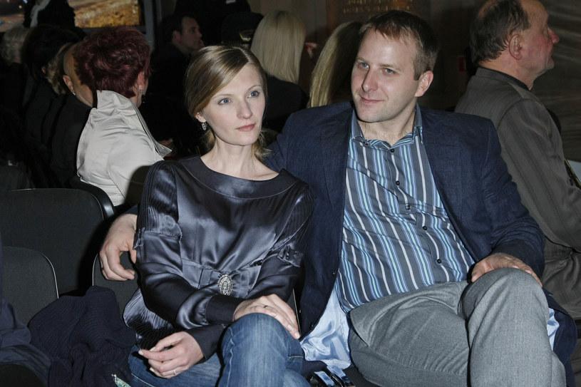 Agata Buzek z mężem Adamem Mazanem /Engelbrecht /AKPA
