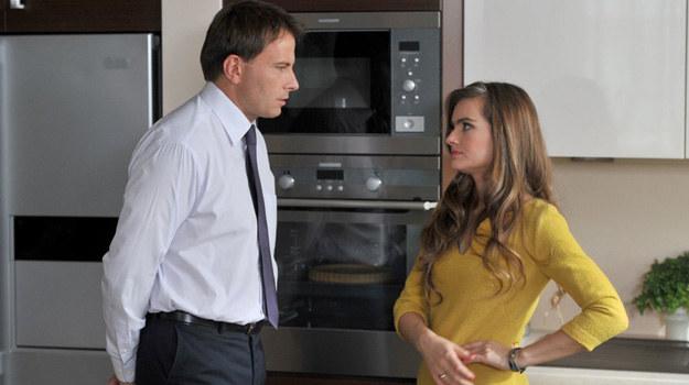 Agata chce dziecka, ale Jacek twierdzi, że to nie jest właściwy czas na potomstwo... /Agencja W. Impact