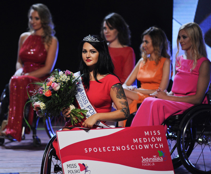 Agata Cybuchowska - Miss Polski Mediów Społecznościowych /Daniel Gnap /East News
