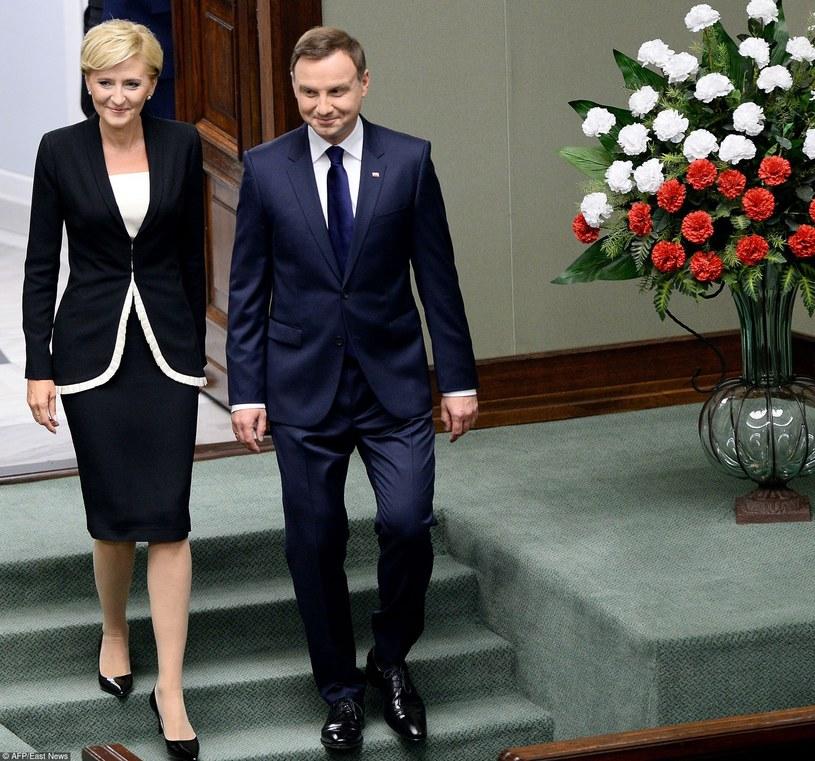 Agata Duda i Andrzej Duda /Jacek Dominski/REPORTER /East News