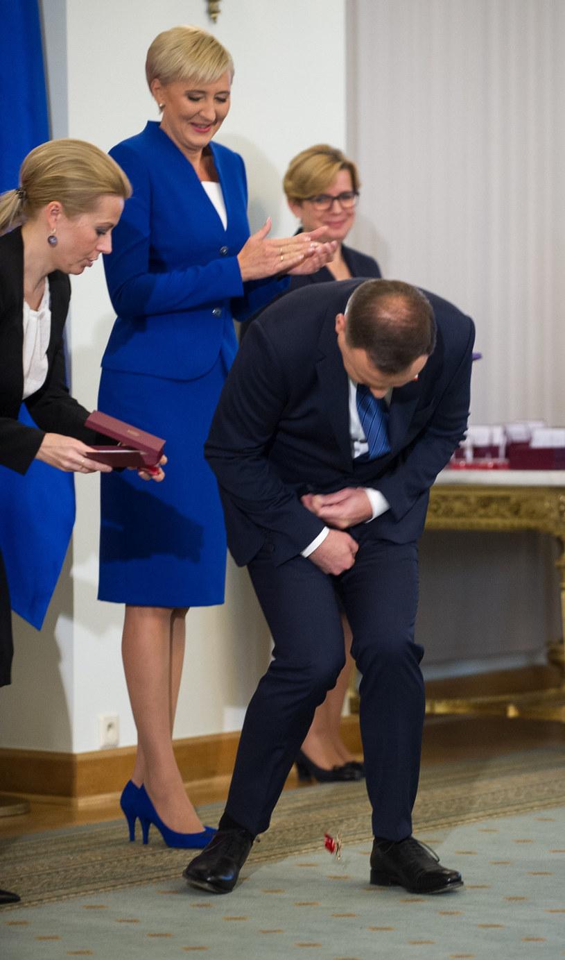 Agata Duda i Andrzej Duda /Bartosz Krupa /East News