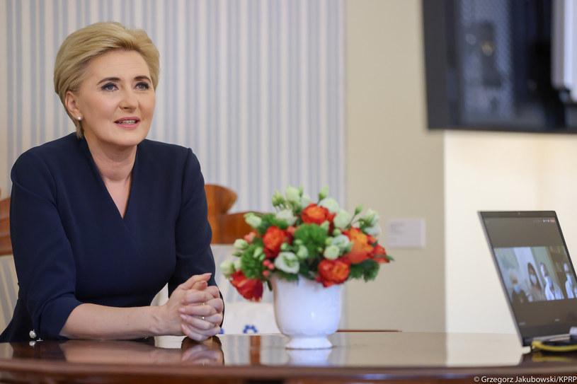 Agata Duda - Kancelaria Prezydenta RP fot. Grzegorz Jakubowski /materiał zewnętrzny