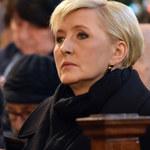 Agata Duda uczestniczyła w pogrzebie przyjaciela. Ta śmierć to cios