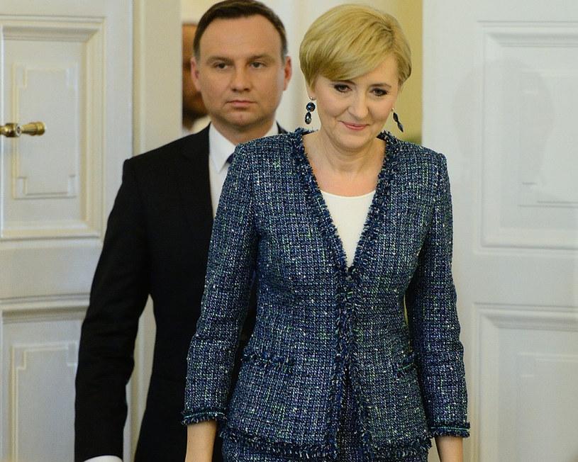 Agata Duda zabierze głos? /Jarosław Antoniak /MWMedia