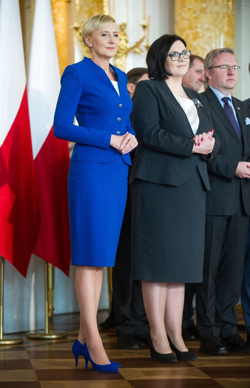 Agata Duda /Bartosz Krupa /East News